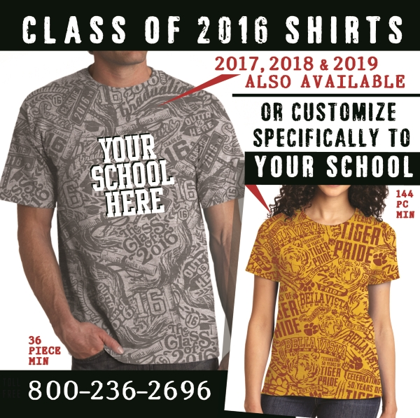 Class of T-Shirts Stain Imaging