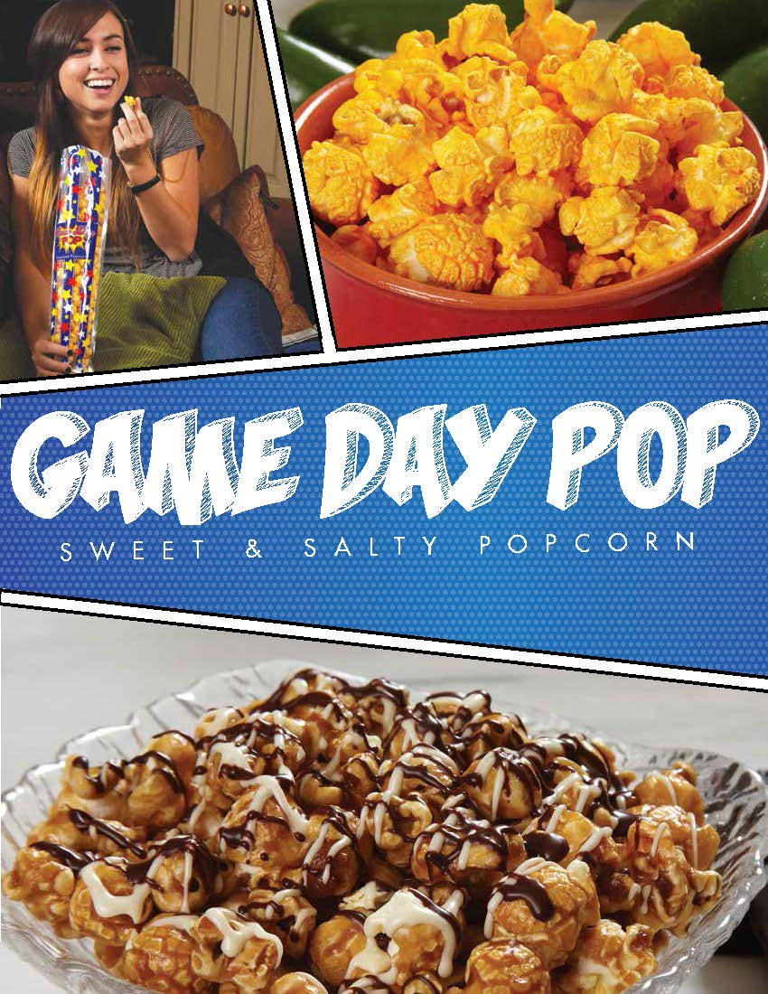 Game Day Popcorn Order Taker Program