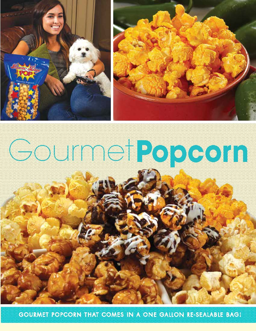 Gourmet Popcorn Order Taker Program