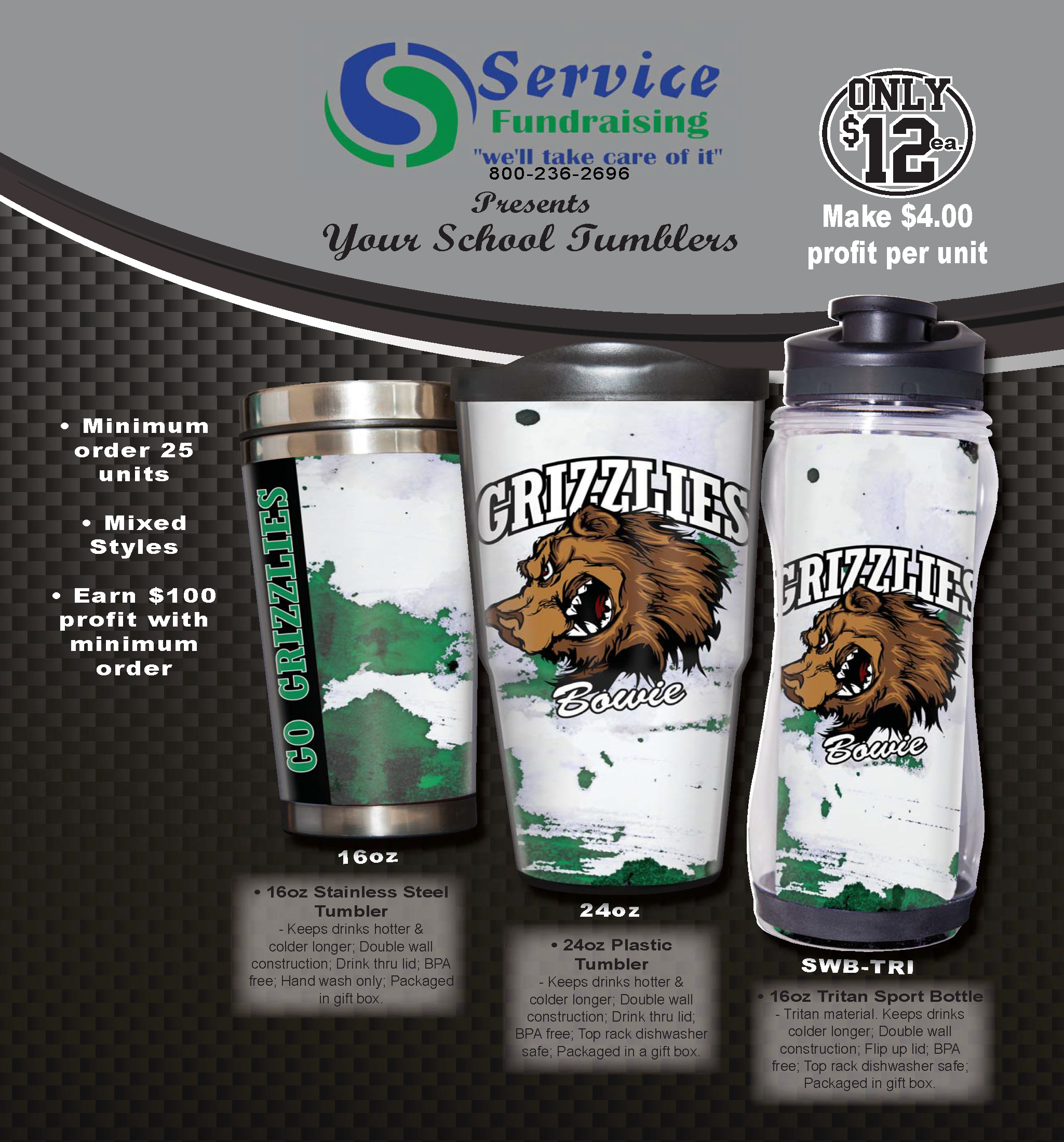Spirit Mugs and Cups Program