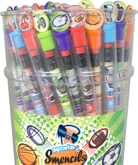 Smencils - Sports Scents