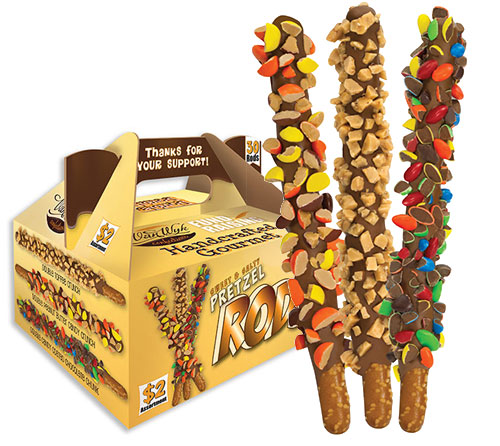 Pretzel Rods $2.00 Sellers