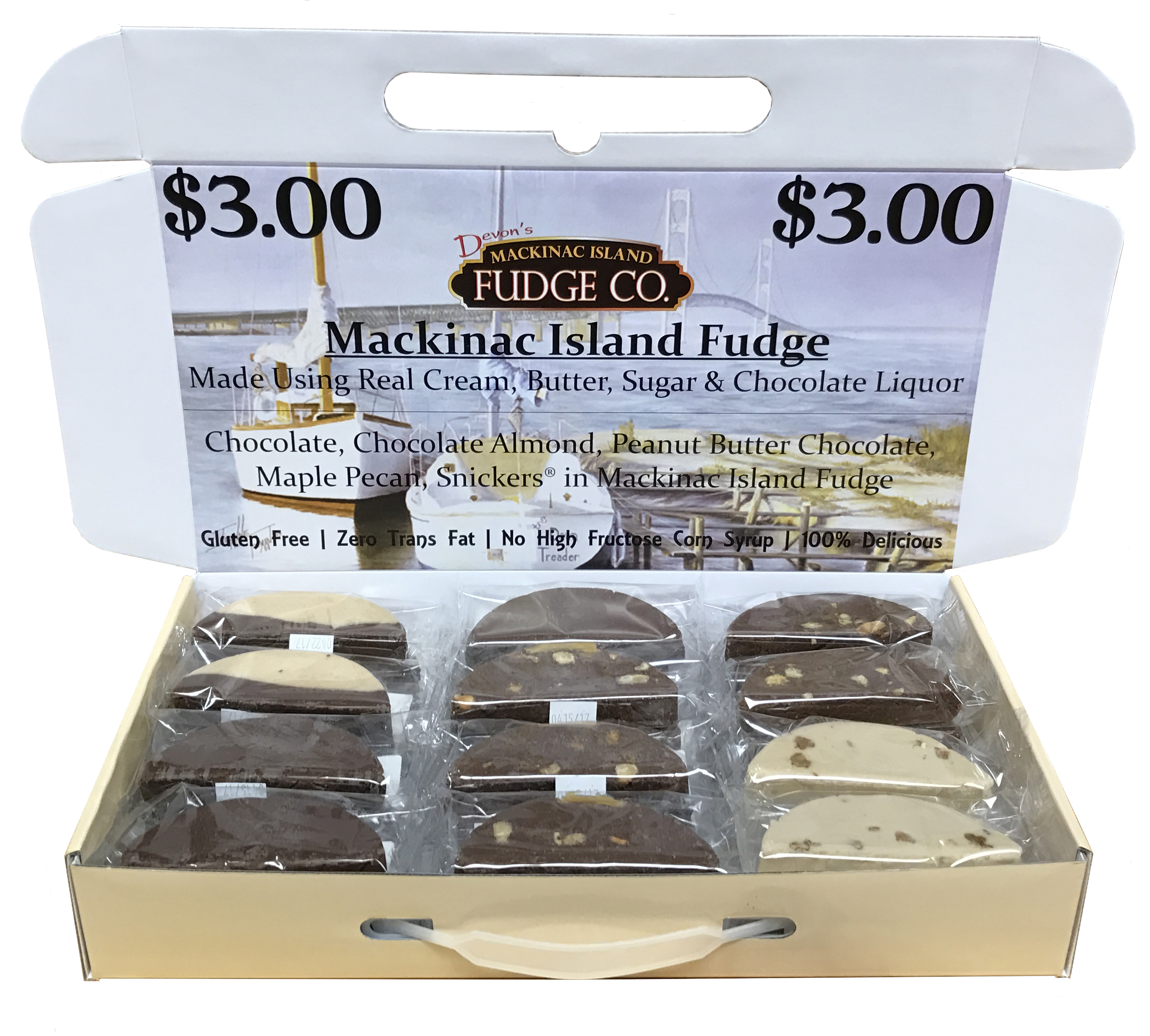 Mackinac Island Fudge Sell Box